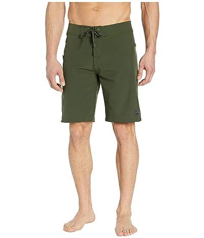 Prana Fenton 10 Boardshorts (Nori Green) Men