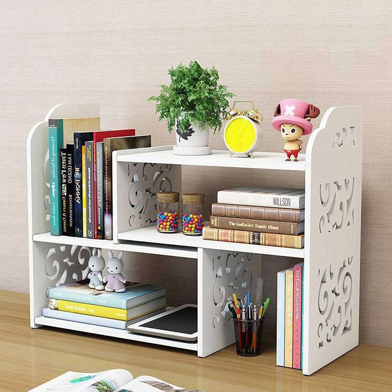 YAXIAO Desktop Bookshelf Retractable Layered Bookcase Books Sundries Savings Cabinet Display Cabinet 70x17x40cm Bookshelf