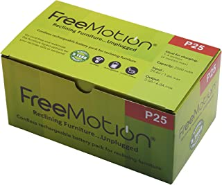 FREEMOTION 2500 mAh Battery Power Recliner Rechargeable...