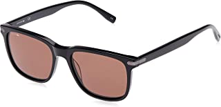 Lacoste Round Sport Inspired Black Sunglasses For Unisex 52-18-145mm