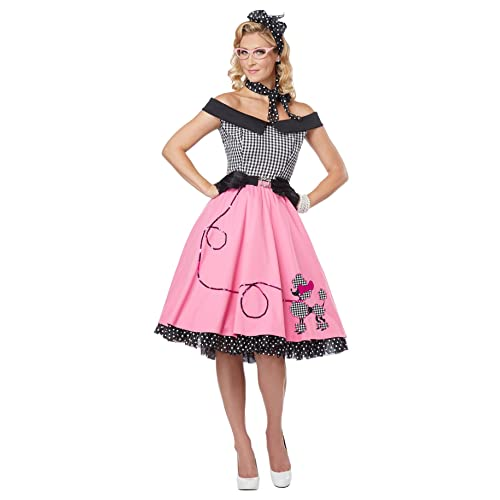 d168429a2a03 California Costumes Women's Nifty 50's Adult