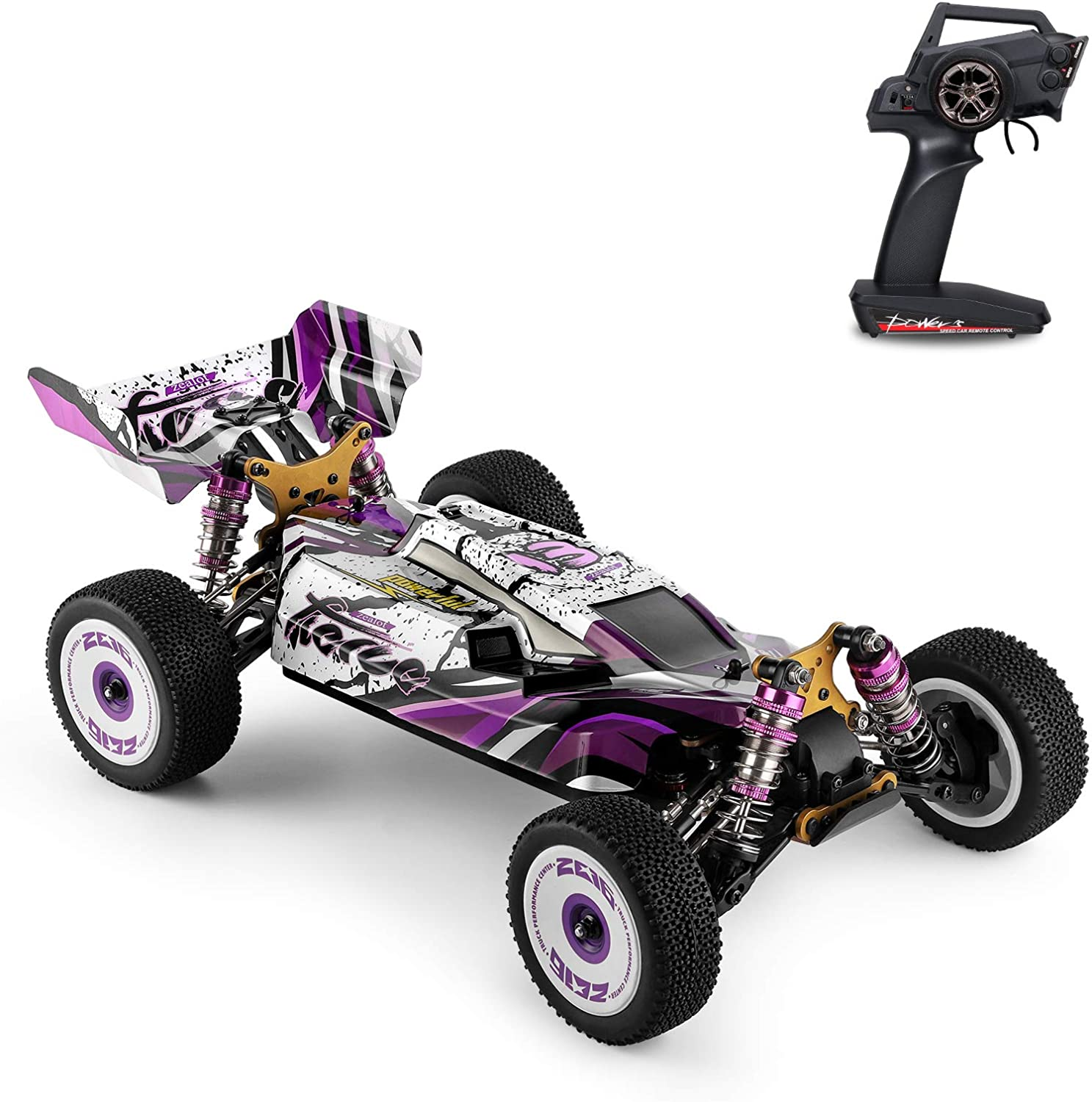GoolRC WLtoys 124019 RC Car 1 Remote 12 2.4GHz Control Translated Opening large release sale Scale Ca