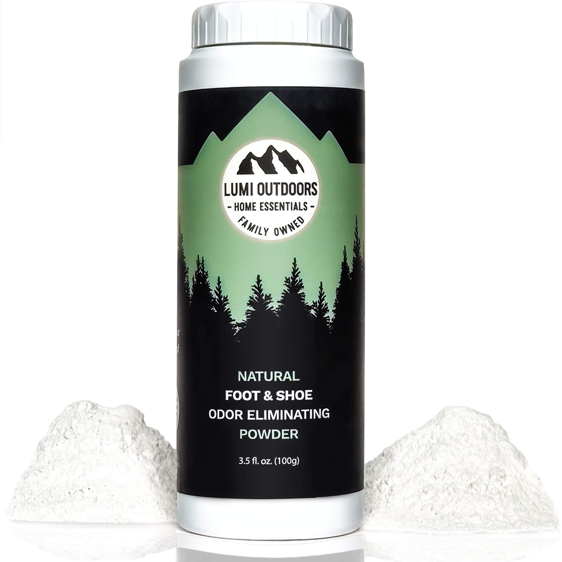 Natural Powder Eliminator Deodorizer Bottle