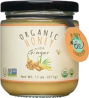 GREENBOW Organic Honey with Ginger - 100% USDA Certified Organic, Gluten Free, Non-GMO Organic Ginger Honey - Highest Qual...