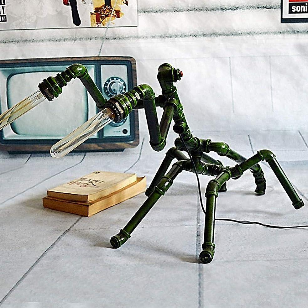 願望微弱によるとRXY-101 寝室用リビングルームライティングデスクカフェバーインダストリアルスタイルパイプテーブルランプ