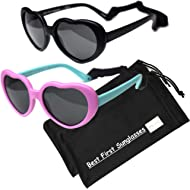 Sweetheart- Best First Sunglasses for Infant, Baby, Toddler. 100% UV Protection. Many Colors and...