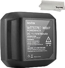 Godox Battery Pack 11.1V 8700mAh for AD600 AD600B AD600BM AD600M Studio Flashes