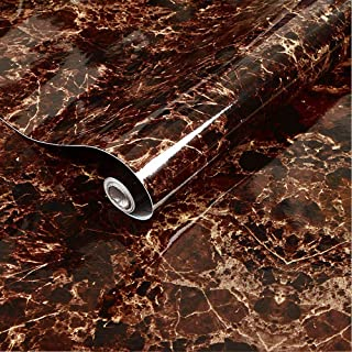 Maruti Villa Marble Contact Paper Peel and Stick Wallpaper for Kitchen Countertops Cabinets Furniture Self Adhesive Vinyl ...