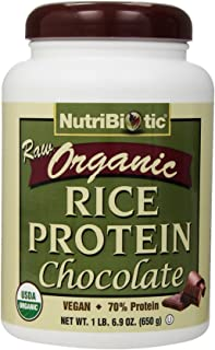 Nutribiotic Organic Rice Protein , Chocolate, 22.9 Ounce