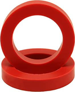 "Eurotubes ""EuroDamper"" Tube Damper Rings Extra Large for 6550, KT66, KT88, 300B and 2A3 Power Tubes. One Pair."