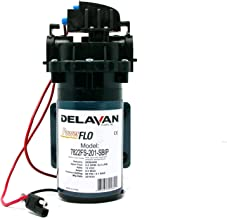 Delavan 7822FS-201-SBIP I Series 12 Volt Electric 60 PSI 2.2 GPM Bypass, On Demand, and Bypass-Demand Diaphragm Pump