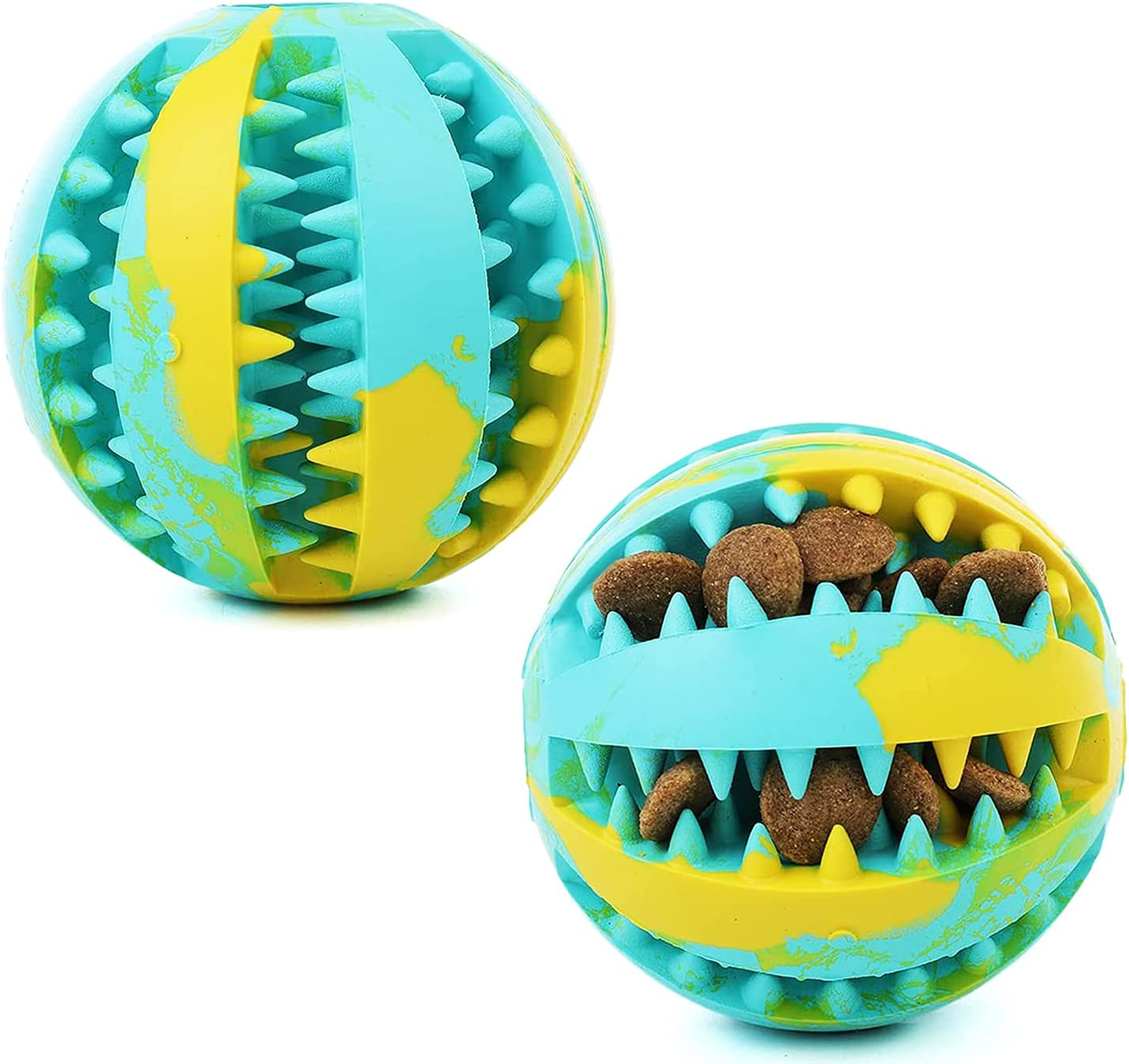 Mandy Dog Special price for a limited time Great interest Balls for Chewers Puppy Teeth Ball Rubber Cleanin