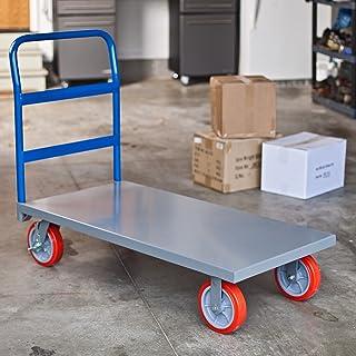 Poco gigante totalmente montado plataforma camión con ruedas de poliuretano rueda frenos – 8