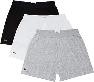 Men's Essentials Classic 3 Pack 100% Cotton Knit Boxers