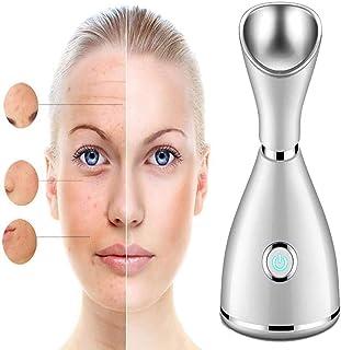 Facial Steamer Nano Ionic Face Steamer Professional met 70 ml watertank en 20s Fasthot Mist Moisturizing Sprayer voor Home...