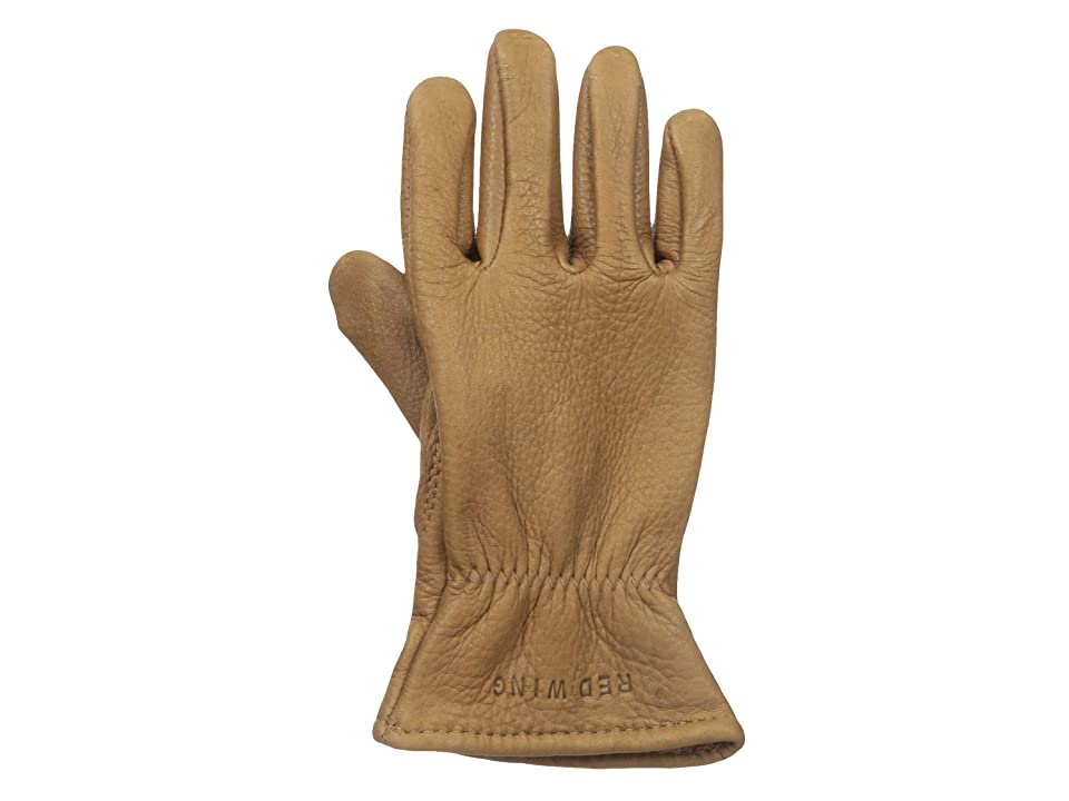 Red Wing Heritage Lined Gloves (Nutmeg Buckskin) Cycling Gloves
