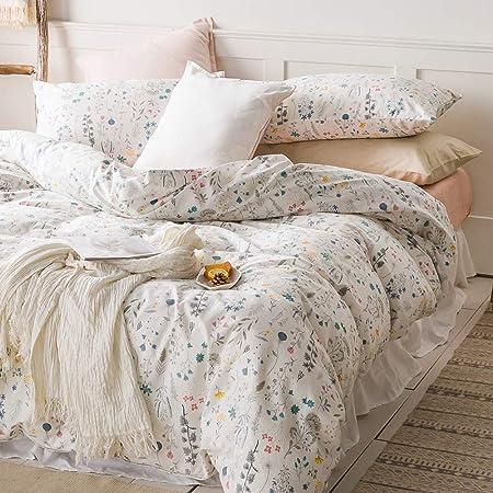 Fresh Lovely Duvet Cover Green Cartoon King Queen Twin Single Bedding Kid Teen Adult Girls Beddings Bedroom Decor Quilt Kits Duvet Covers