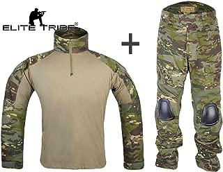 Airsoft Military BDU Tactical Suit Combat Gen3 Uniform Shirt Pants Multicam Tropic