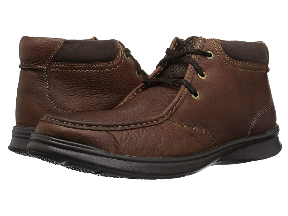 Clarks Cotrell Top (Tobacco Leather) Men