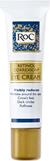RoC Retinol Correxion Anti-Aging Eye Cream Treatment for Wrinkles, Crows Feet, Dark Circles, and Puffiness.5 fl. oz