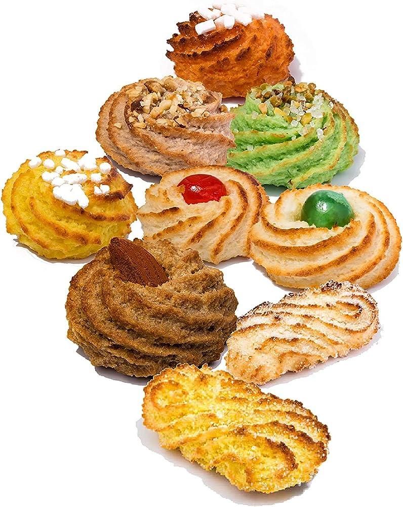 Moreca,biscotti siciliani di pasta di mandorle | box regalo 600 gr