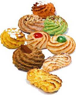 Siciliaanse koekjes met amandelspijs   Geschenkdoos 600 gr   Gesealde pakjes per portie   Geassorteerde koekjes, rechtstre...