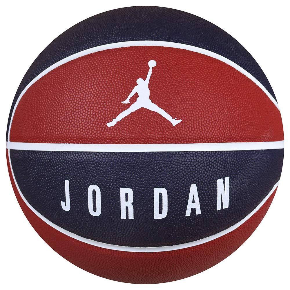 Jordan Nike Ultimate 8P - Balón de Baloncesto, Color Negro y Rojo ...