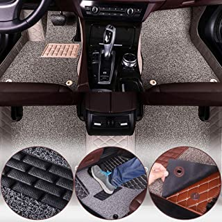 Muchkey Luxury car Floor Mats fit for Buick Lacrosse 2006-2008 Custom fit Luxury Leather All Weather Protection Floor Liners Full car Floor Mats