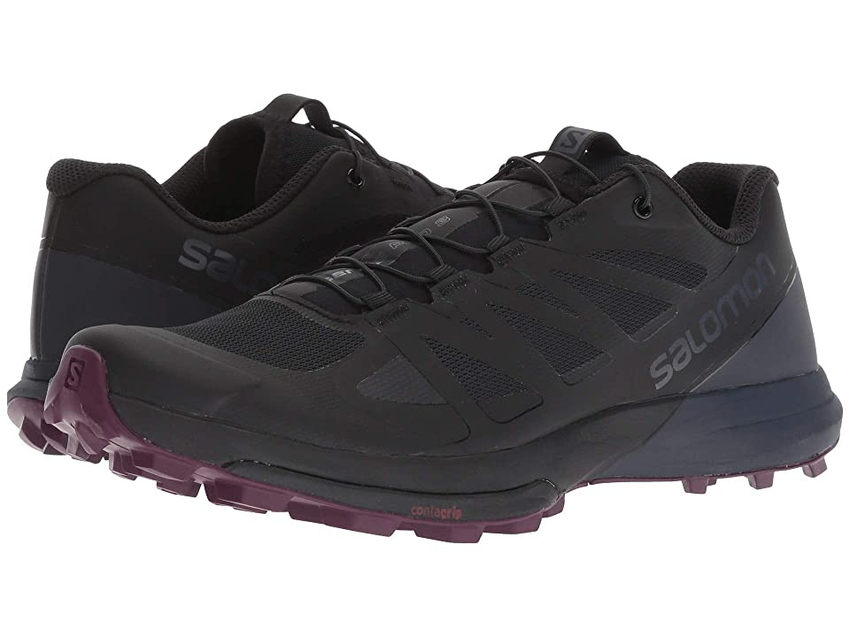 Salomon Sense Pro 3 (Black/Graphite/Potent Purple) Women's Shoes