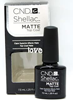 CND Shellac GelColor Nail Polish/Base/Top/Brand New Gel Color #1 - Choose Any 91731- Shellac Small Matte Top Coat