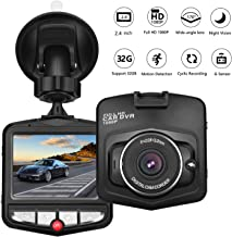 HK Dash Cam for Cars with Night Vision Vehicle Driving Recorder Mini Dashboard Camera 2.4