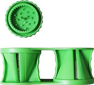 Fackelmann 44115.0Trancheuse légumes à Spirale 2in1, Multiply, Vert