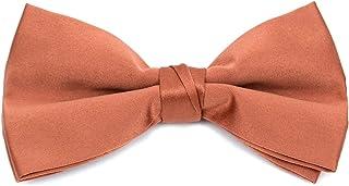 フォーマルソリッドポリエステルBoy 's Bow tie-rust