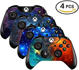 UUShop Vinyl Skin Sticker Decal Cover for Microsoft Xbox One Controller - Galaxy Starry - 4 differences style(NOT for One S or X)