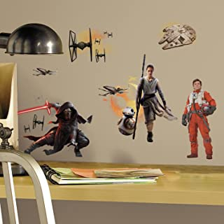 RoomMates Star Wars The Force Awakens Ep VII Ensemble Cast Peel and Stick Wall Decals