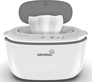 Wipe Warmer   Wipe Dispenser   Baby Diaper Warmer   Wipes Holder BPA-Free with 2 Modes Control, Evenly and Quickly Top Hea...