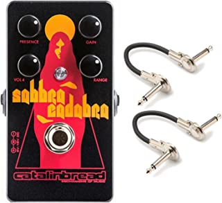 Catalinbread SABBRA CADABRA Foundation Overdrive Pedal w/ Geartree Patch Cables