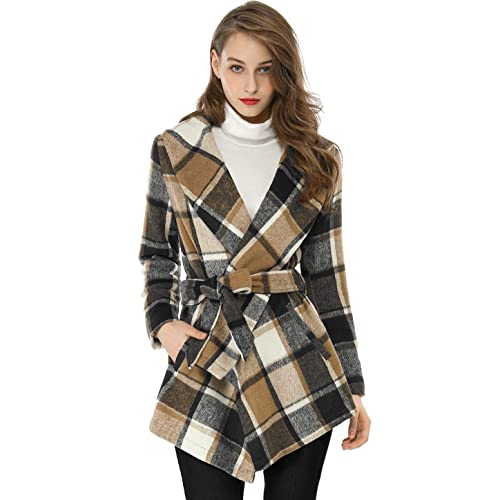 d867cf99f Women s Plaid Coat  Amazon.com
