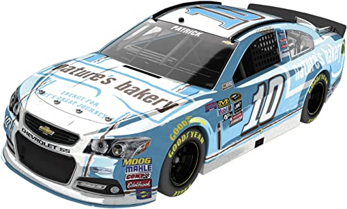 Lionel Racing Danica Patrick  10 Natures Bakery 2016 Chevrolet SS NASCAR Diecast Car (1 24 Scale), Chrome