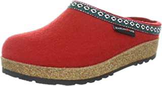 HAFLINGER Women's GZ Classic Grizzly Open Back Slippers