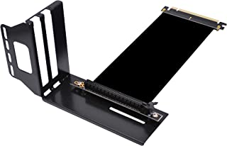 Kaislin Vertical Graphics Card Holder Bracket,GPU Mount ,Video Card Support Kit with Riser Cable