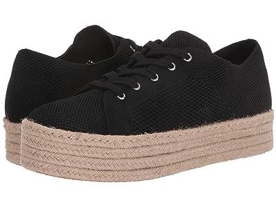 Steve Madden History Espadrille Sneaker (Black) Women