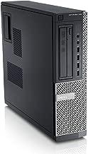 Dell OptiPlex SFF Desktop PC - Intel Core i3-2130 3.4GHz 4GB 250GB DVDRW Windows 10 Pro (Renewed)