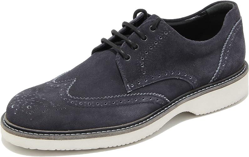Hogan 0719L Scarpe Uomo Blu Route Derby Scarpe Shoes Men [7 ...