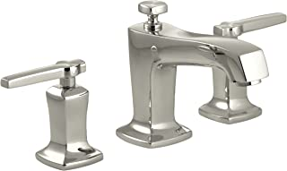 KOHLER K-16232-4-SN Margaux Widespread Lavatory Faucet, Vibrant Polished Nickel