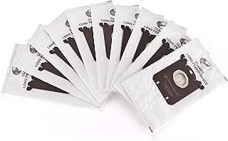 GL Gear Replacement Dustbags for Electrolux Vacuum Cleaners Anti-Allergy S Bag EL200F,EL202F,EL4100,EL4200 EL6985 EL7000 EL8500 Philips Tornado Volta AEG (10 Pack)