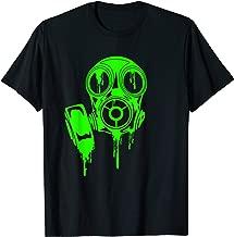 Poison Green Gas Mask / Gift For Man Woman Kids Nerds Geeks T-Shirt