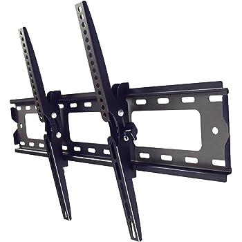 STARPLATINUM テレビ壁掛け金具 液晶テレビ 37-65インチ対応 強度抜群 移動式 角度調節可能 TVセッターチルト1 振動検査実施済 ブラック