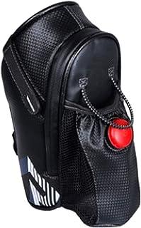 HAMILO 自転車 サイクリングバッグ サドルバッグ 水筒入れ 防水 テールライト 簡単取り付け