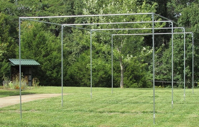 レビュー大理石増強バッティングケージフレームキットEZ UP & DOWN野球ソフトボールフレームキット
